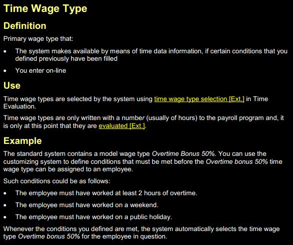 Sap Hr Wage Types And Tables Sap Stack
